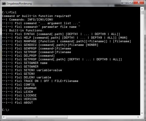 FLCL Command Line :: FLAM